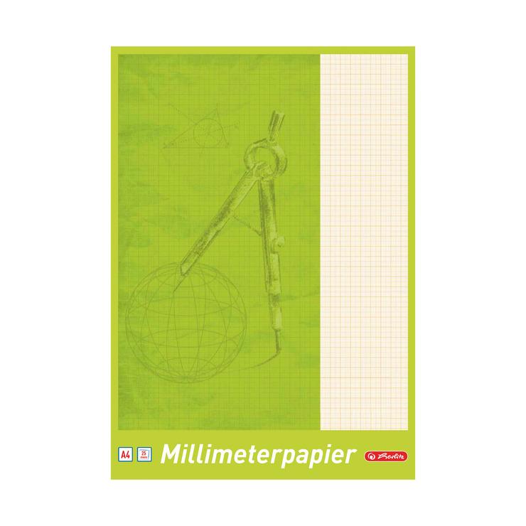 millimeterpapier din a4 25 g nstig kaufen papersmart. Black Bedroom Furniture Sets. Home Design Ideas