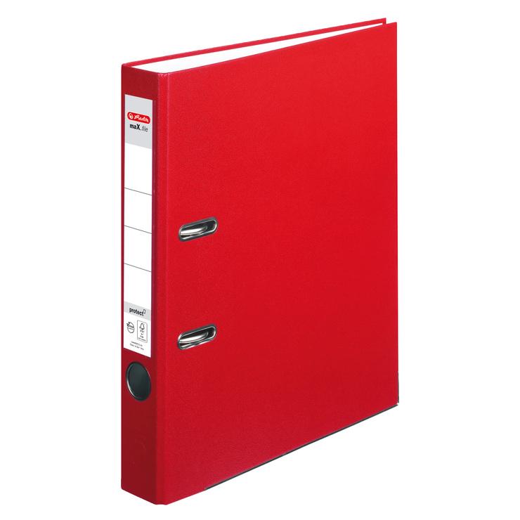 ordner din a4 50 mm pp rot g nstig kaufen papersmart. Black Bedroom Furniture Sets. Home Design Ideas