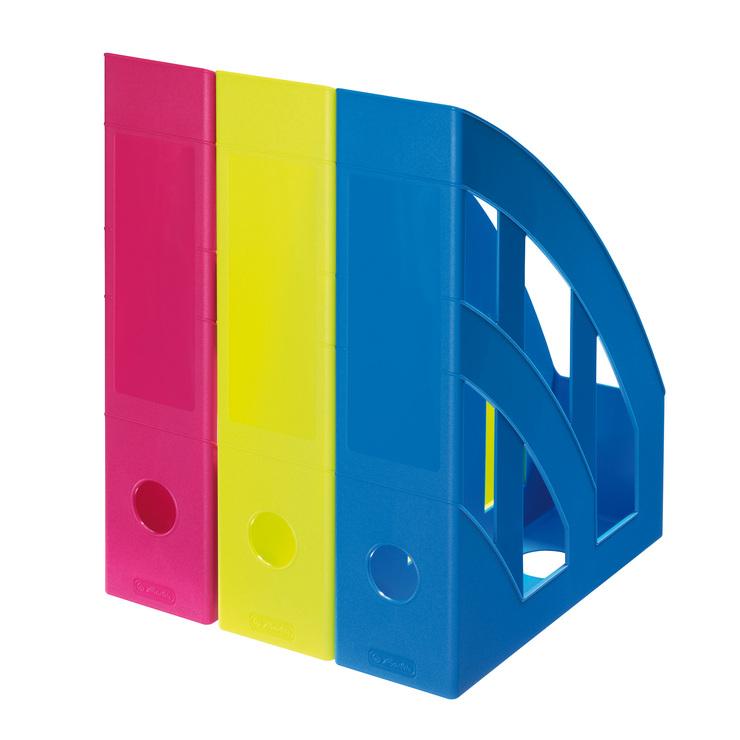 Stehsammler design  Herlitz Stehsammler A4-C4 classic cool pink   Papersmart