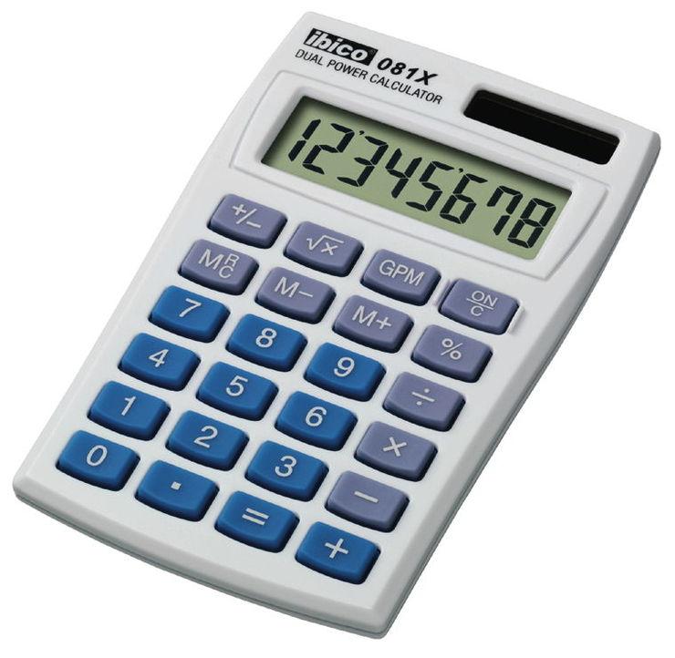 ibico® Taschenrechner 081X günstig kaufen | Papersmart