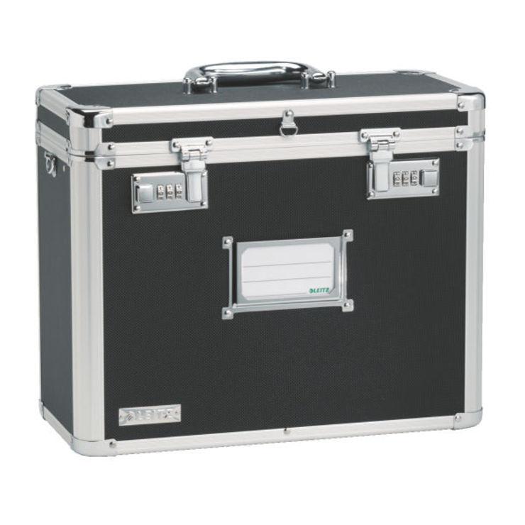 leitz h ngeablage box mobil aluminium schwarz papersmart. Black Bedroom Furniture Sets. Home Design Ideas