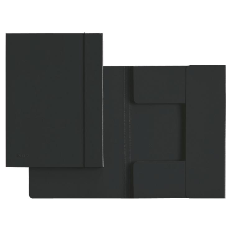 leitz sammelmappe a4 hartpappe schwarz papersmart. Black Bedroom Furniture Sets. Home Design Ideas