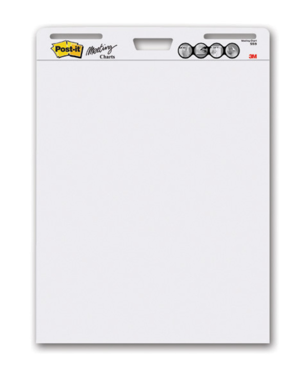 post it chart paper Flip chart pad: brand name: post-it 559vad commercial office supply div easel paper flipcharts flip charts post-it post it adhesive note sticky notes self.