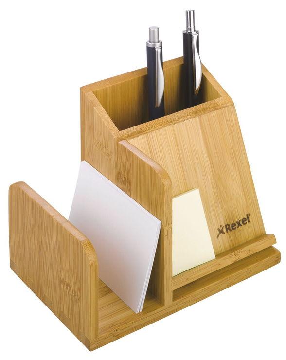 wedo 61507 butler bambus 3 f cher stifte einsatz ma e. Black Bedroom Furniture Sets. Home Design Ideas
