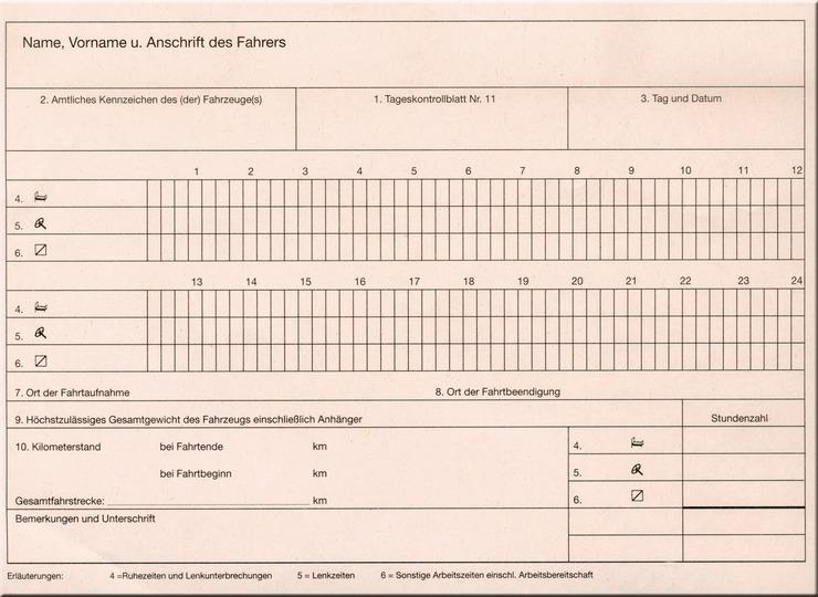 RNK Kontrollbuch Tageskontrollblätter | Papersmart