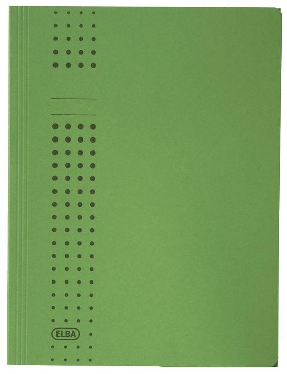 blau Karton Herlitz 10843910 Einschlagmappe mit Gummizug A4 25 St/ück