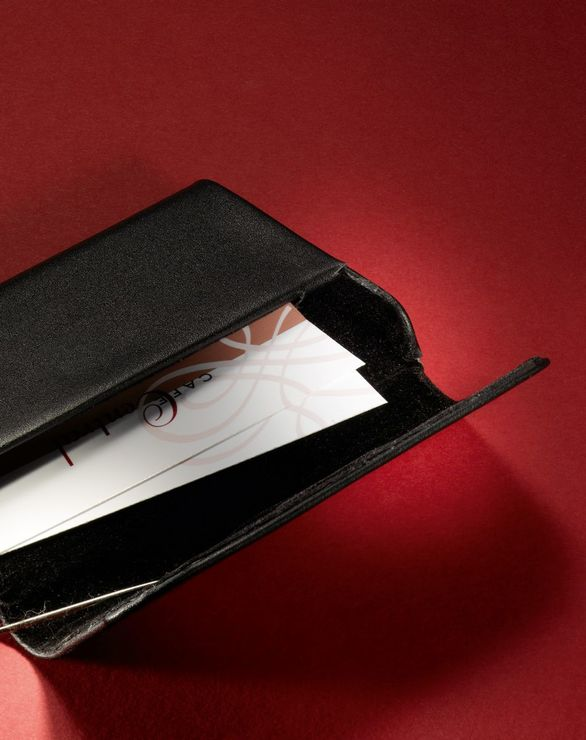 Sigel Visitenkarten Etui Leder Torino Papersmart