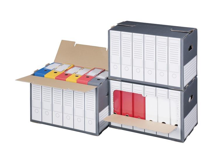 smartbox pro ordner archivbox g nstig kaufen papersmart. Black Bedroom Furniture Sets. Home Design Ideas