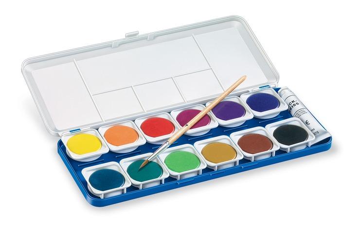 STAEDTLER® Noris Club Farbkasten mit Wasserfarben | Papersmart