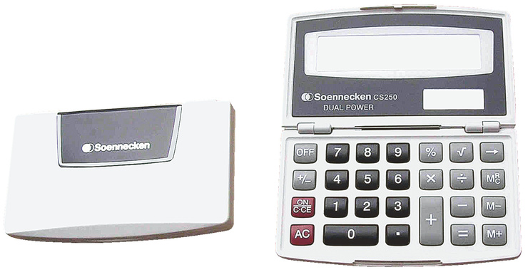 taschenrechner cs 250 g nstig kaufen papersmart. Black Bedroom Furniture Sets. Home Design Ideas