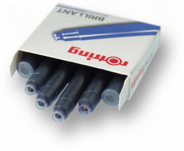 Tintenpatrone für Füllhalter rotring Brillant Tintenpatrone | Papersmart