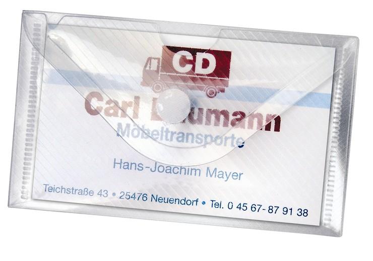 Veloflex Visitenkartenhülle Usb Stick Hülle Papersmart