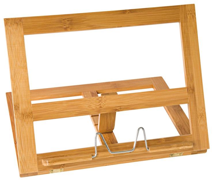wedo konzepthalter lesest nder buchst nder bambus papersmart. Black Bedroom Furniture Sets. Home Design Ideas